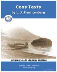 Coos Texts, Score Nam Coos Volume Vol. I by Frachtenberg, L. J.
