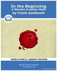 In the Beginning, a Navaho Creation Myth... by Goldtooth, Frank