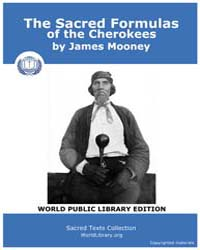 The Sacred Formulas of the Cherokees, Sc... by Mooney, James