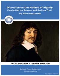 Discourse on the Method of Rightly Condu... by Descartes, Rene