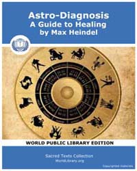 Astro-diagnosis, a Guide to Healing by Heindel, Max