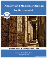 Ancient and Modern Initiation by Heindel, Max