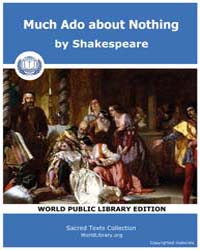 Much Ado About Nothing by Shakespeare