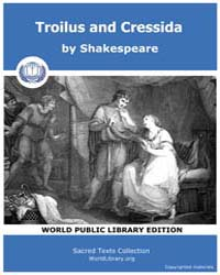 Troilus and Cressida by Shakespeare
