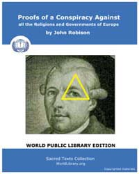 Proofs of a Conspiracy Against all the R... by Robison, John