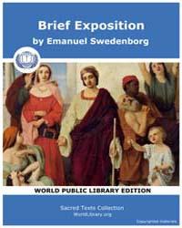 Brief Exposition by Swedenborg, Emanuel