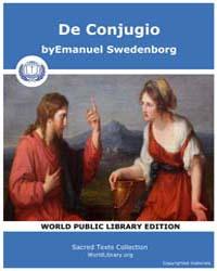 De Conjugio by Swedenborg, Emanuel