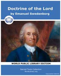 Doctrine of the Lord by Swedenborg, Emanuel