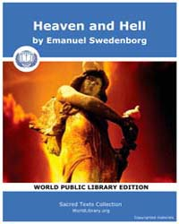 Heaven and Hell by Swedenborg, Emanuel