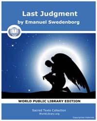 Last Judgment by Swedenborg, Emanuel