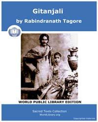 Gitanjali by Tagore, Rabindranath