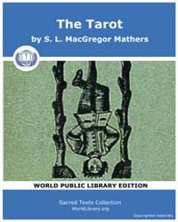 The Tarot by Mathers, S. L. MacGregor