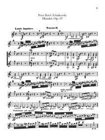 Hamlet (overture-fantasia) (Гамлет (Gaml... Volume Op.67 ; TH 53 by Tchaikovsky, Pyotr