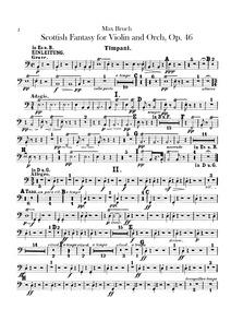Schottische Fantasie (Fantasie für die V... Volume Op.46 by Bruch, Max