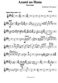 Azami no Hana (薊の花(あざみのはな)) : Violin Par... by Hashimoto, Kunihiko