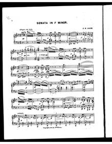 Piano Sonata : Piano Score by Orem, Preston Ware