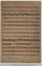 Sinfonia in D major : Complete Score by Giai, Giovanni Antonio