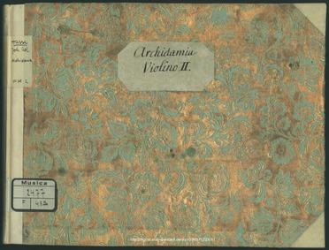 La spartana generosa, ovvero Archidamia ... by Hasse, Johann Adolph