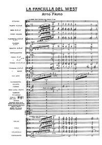 La fanciulla del West (Opera in tre atti... by Puccini, Giacomo