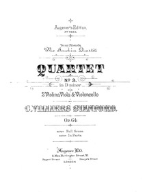 String Quartet No.3, Op.64 : Complete Pa... Volume Op.64 by Stanford, Charles Villiers