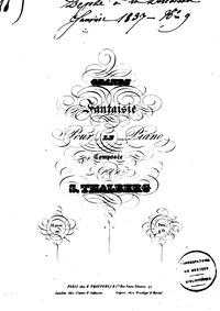 Grande Fantaisie, Op.22 : Complete score Volume Op.22 by Thalberg, Sigismond