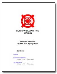 God's Will and the World by Moon, Sun Myung, Rev.