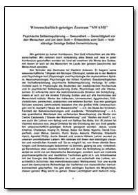 Wissenschaftlich - Geistiges Zentrum Swa... by Antonov, Vladimir, Ph. D.