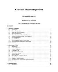 Classical Electromagnetism a Graduate Co... by Fitzpatrick, Richard