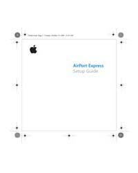 Apple Support Manuals : Airportexpressse... by Apple Computer Inc.