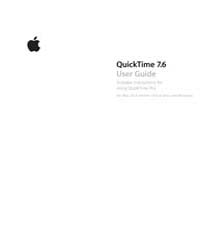 Apple Support Manuals : Quick Time7 6 Us... by Apple Computer Inc.