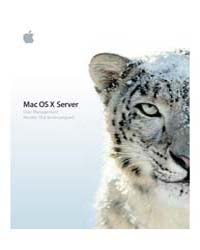 Apple Support Manuals : User Mgmt V10 6 by Apple Computer Inc.