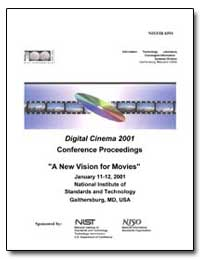 Digital Cinema 2001 Conference Proceedin... by Floyd, Mary