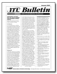 Itl Bulletin Series by Hash, Joan S.