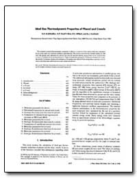 Ideal Gas Thermodynamic Properties of Ph... by Kudchadker, Shanti A.