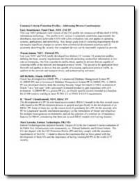 Common Criteria Protection Profilesaddre... by Stoneburner, Gary