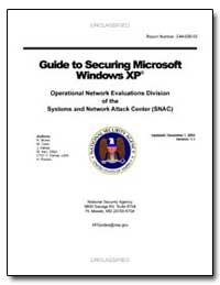 Guide to Securing Microsoft Windows Xp by