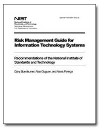Risk Management Guide for Information Te... by Stoneburner, Gary