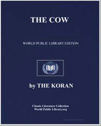 The Koran : The Cow by Transcribed  the Prophet Muhammad