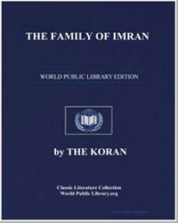 The Koran : The Family of Imran by Transcribed  the Prophet Muhammad