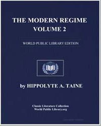 The Modern Regime, Volume 2 by Taine, Hippolyte A.