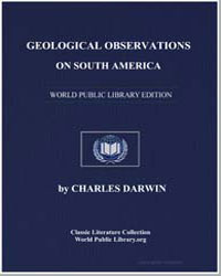 Geological Observations on South America by Darwin, Charles