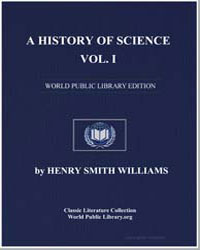 A History of Science, Vol. 1 by Williams, Henry Smith