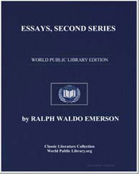 Essays, Second Series by Emerson, Ralph Waldo