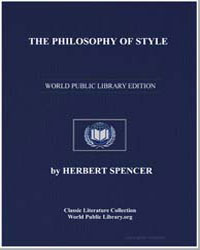 The Philosophy of Style by Spencer, Herbert