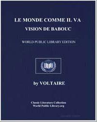 Le Monde Comme Il Va, Vision de Babouc by Voltaire