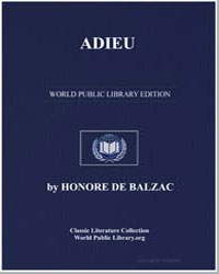 Adieu by De Balzac, Honore