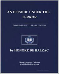 An Episode under the Terror by De Balzac, Honore