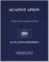 Against Apion by Josephus, Flavius