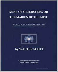 Anne of Geierstein, Or the Maiden of the... by Scott, Walter, Sir