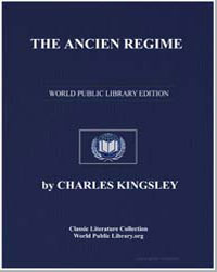 The Ancien Regime by Kingsley, Charles